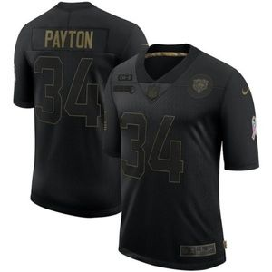Walter Payton Chicago Bears Salute Jersey
